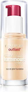 COVERGIRL Outlast Stay Luminous Foundation Buff Beige 825, 1 oz (packaging may vary)