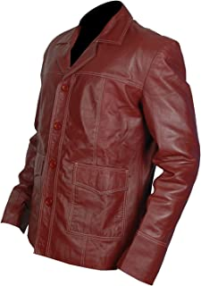 Best fight club leather jacket Reviews