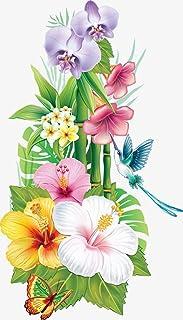 Kit per pittura a mosaico con diamanti sintetici 5D, ricamo a punto croce fiori di bambù, diy number painting forniture ar...