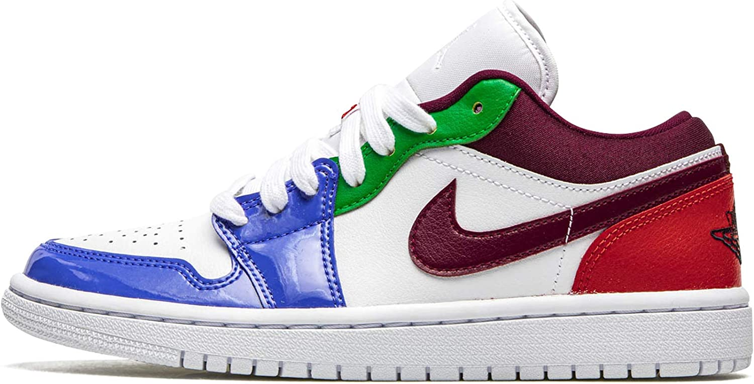 Jordan Womens WMNS Air Super sale Fees free!! period limited 1 Low Db5455 White 100 Size Multicolor Se