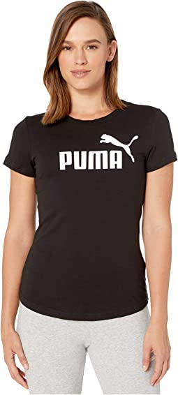 Daniel Fox wearing Puma Logo Tee, Puma Smash Suede Sneakers