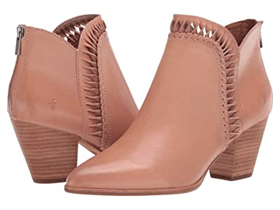 Frye Reed Feather Bootie (Pale Blush Vintage Veg Tan) Women