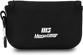 MegaGear MG716 Estuche de cámara Ultra Ligero, de Neopreno Compatible con Panasonic Lumix DC-TZ95, DC-TZ90, DMC-TZ100 - Negro