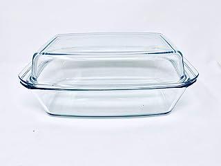 Bohemia Fuente Rectangular de 3,2 litros + Tapa de 2,2 litros, 34.8x20.3x13.2 cm