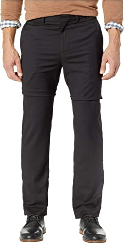 Slim Fit Flat Front Dress Pants with Stretch