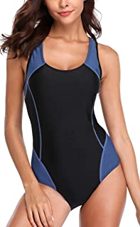 Women's One Piece Swimsuits Athletic Swimsuit Training Bathing Suit