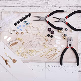 紗や工房 スターターセット 手作りアクセサリー 初心者向け 工具付 ハンドメイド アクセサリー
