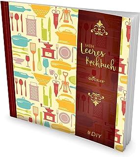 GOCKLER® Leeres Kochbuch: Ein Rezeptbuch zum Selbstgestalte