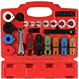 22pcs Master Quick Disconnect Tool Kit for Automotive AC Fuel Line and Transmission Oil Cooler Line