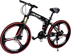G4 Challenge Land Rover Folding Bicycle - Black 26 Inch
