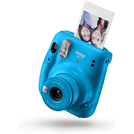 instax Fujifilm mini 11 - cámara instantánea - Capri Blue - Exclusivo