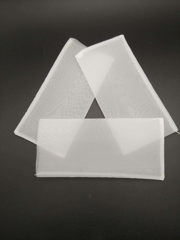 Holyangtech Rosin Bags Nylon Rosin Press Filter Bags 3 x 5 Canadas Supreme Rosin Filter Screen Bags 20pack-3x5 90 Micron