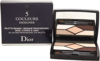 Christian Dior 5 Couleurs Designer All-in-one Professional Eye Palette, 508/Nude Pink, 0.2 Ounce