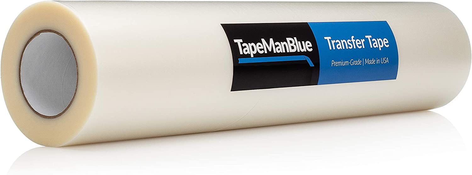 Transfer Tape for Vinyl 48 inch x Fil low-pricing Tack Some reservation 100 Low Clear Yards