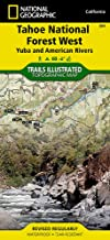 Tahoe National Forest West [Yuba and American Rivers] (National Geographic Trails Illustrated Map (804))