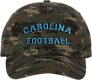 Adult Carolina Football Embroidered Dad Hat