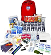 USA Adventure Gear ReadyGear 2 Person Ultra Emergency Kit - First Aid, Water, Tent, Sleeping Bag, Hygiene Kit and More Survival Tools for Hurricane, Earthquake, Winter, and Other Disaster Relief