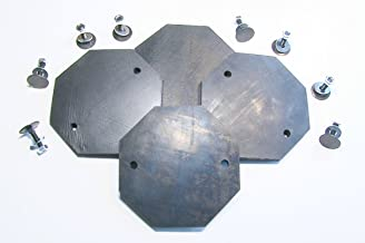Auto Lift Parts - Ultra Heavy Duty Replacement Pads for TP9KF, TP9KAF, TP9KAC, TP11KAC, TP15 - Set of 4