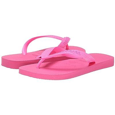 Havaianas Top Flip Flops (Shocking Pink) Women