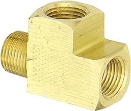 Eaton Weatherhead 3750X8 Brass CA360 Fitting, Street Tee, 1/2