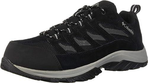 Columbia Men's Crestwood Hiking schuhe, schwarz, grau, 10 D US