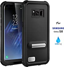 ASAKUKI Samsung Galaxy S8 Case, Full Body Case with Screen Protector,Waterproof IP68 Shockproof Snowproof Dustproof for Samsung Galaxy S8