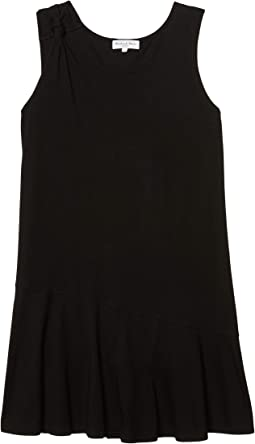 Kirsty Cotton Modal Tank Dress w/ Twisted Strap