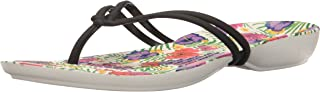 Crocs Women's Isabella Graphic Flip US