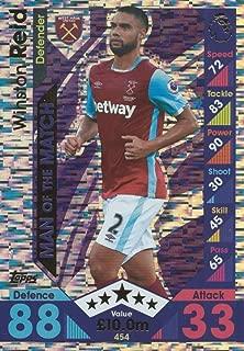 Topps Match Attax 2016/2017 Winston Reid Man Of The Match 16/17 Trading Card