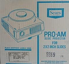 Sears PRO-AM 35MM Slide Projector (Type I)