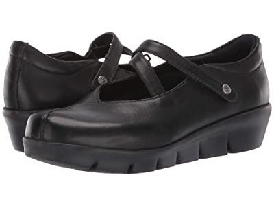 Wolky Sabik (Black Vegi Leather) Women