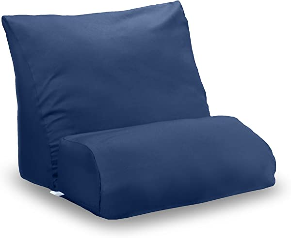 Flip Lounge Pillow Flip With Navy Case