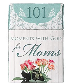 101 Moments with God for Moms Cards - A Box of Blessings