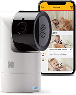 Kodak Kodak Cherish C125 Video Baby Camera, with App and Two Way Talk, Comfort Your Baby, Elderly, Pets and Family from An...