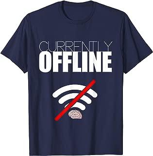 Currently Offline Introvert Signal T-Shirt