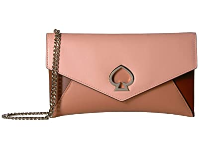 Kate Spade New York Chain Clutch (Tawny Multi) Clutch Handbags