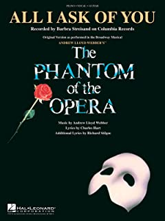 All I Ask of You (from the Phantom of the Opera)
