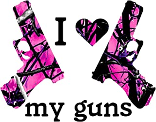 I heart my Guns / Hot Pink Camo