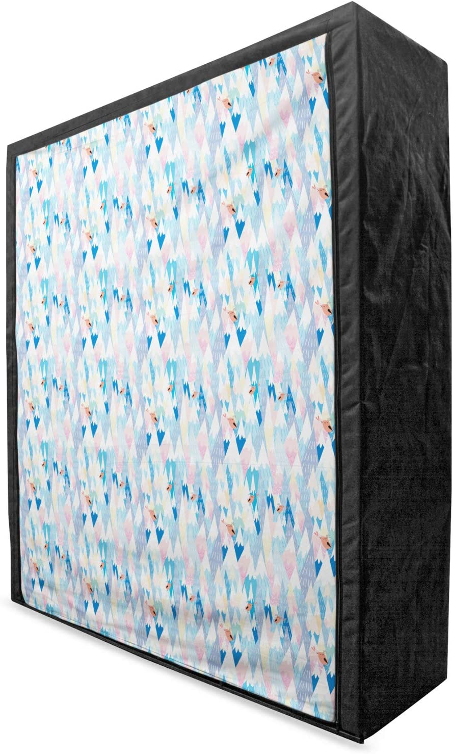 Ambesonne Birds Las Cheap Vegas Mall Portable Fabric Wardrobe Northern Twittering Ca