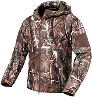 ReFire Gear Men's Soft Shell Military Tactical Jacket...