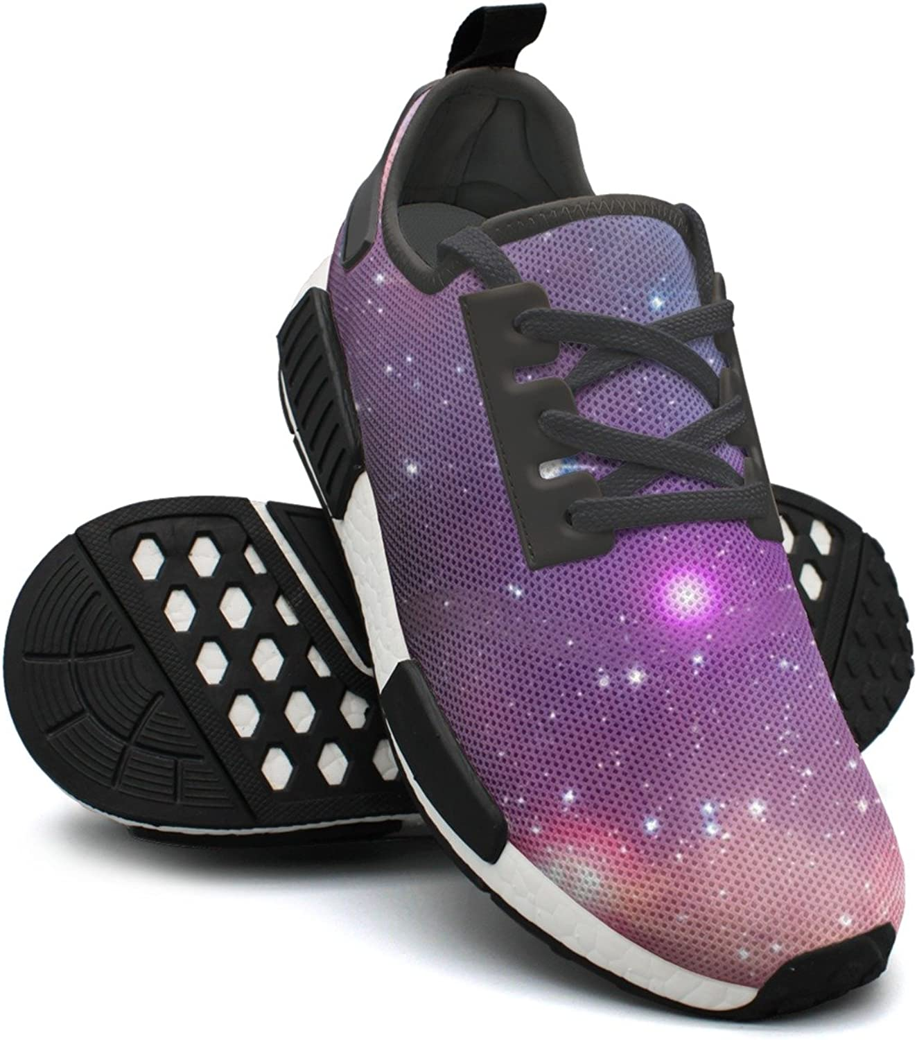 Camping Starry Night Sky Young Women Mini Novelty Running shoes