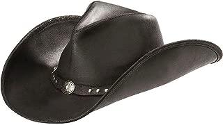 Western Hat Adult Silverton Dude Leather Tan 9611