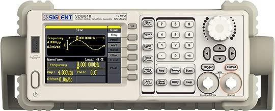 Siglent Technologies SDG810 Siglent Single Channel 10 mhz Bandwidth Signal Generator, Function Generator, Arbitrary Waveform Generator, 125 MSa/s Sampling Rate