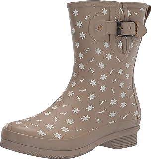 Chooka Women's Mid-Height Printed Rain Boot with Memory Foam