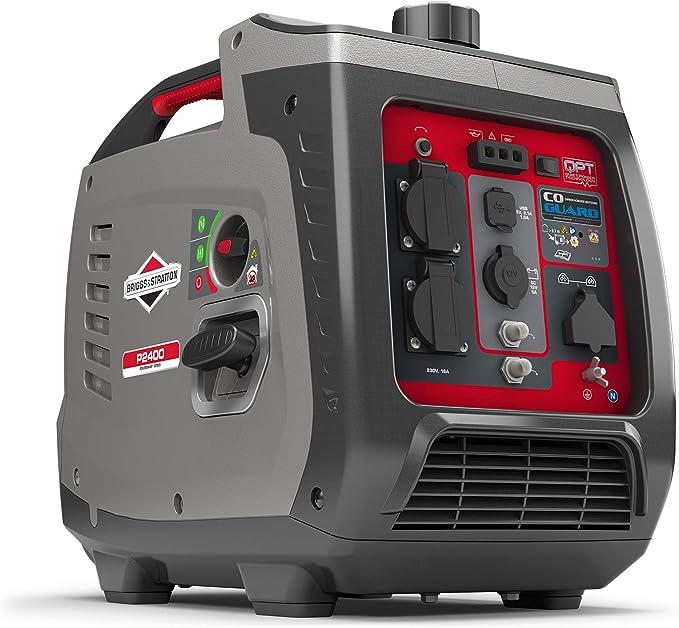 175 opinioni per Briggs & Stratton P2400- Generatore di Corrente Silenziato, con Tecnologia a