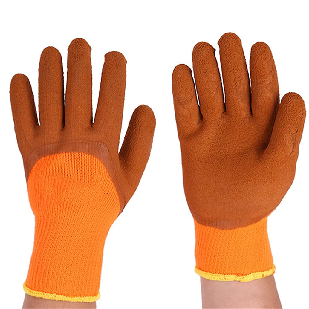 XBLAA Gloves Gardening Products Garden Warm Dipping for Home Use Working Gloves for Women and Men. (Color : 10 Pairs)