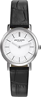 Pierre Cardin Womens Analogue Classic Quartz Watch with Leather Strap PC108112F01
