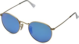 Ray-Ban Men's 0rb3447 Polarized Round