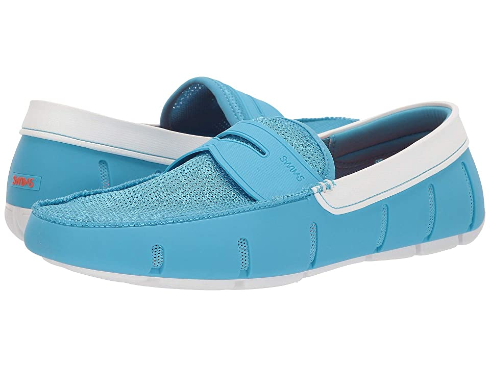 1a61a6869a5 SWIMS Penny Loafer (Norse Blue White) Men s Shoes