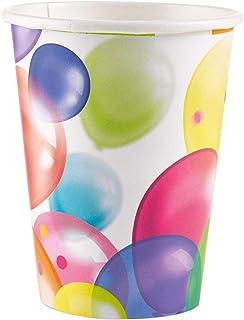 Amscan 9900322 266 ml Balloon Fiesta Paper Cups - Pack of 8